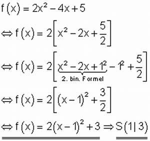 Scheitelpunktform A Berechnen : l sungen grundaufgaben f r lineare und quadratische ~ Themetempest.com Abrechnung