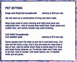 services and rates a lady walks dogs dog walking With dog sitting rates