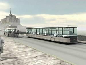 Navette Mont Saint Michel : des navettes cheval entre le mont saint michel et ses parkings eco co2 ~ Maxctalentgroup.com Avis de Voitures