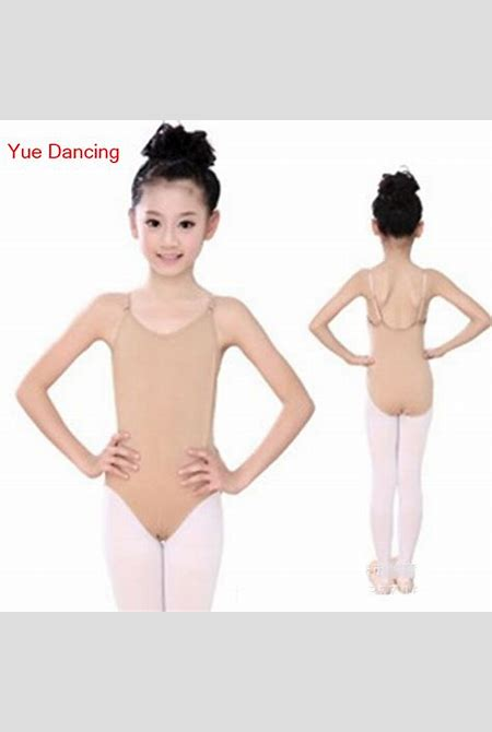 Aliexpress.com : Buy Nude/Skin Color Underwear Camisole Leotards Dance Leotard Girls Gymnastic ...