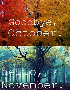 Goodbye, October. Hello, November « Nick Geoghegan