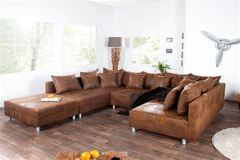 canape angle cuir marron photos canapé d 39 angle cuir marron vintage