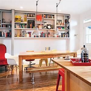 salle a manger originale au style industriel salle a With salle a manger originale