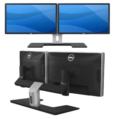 Dell Monitor Arm Desk Mount by Geek Deals 297 For 22 Inch Dual Monitors With Stand