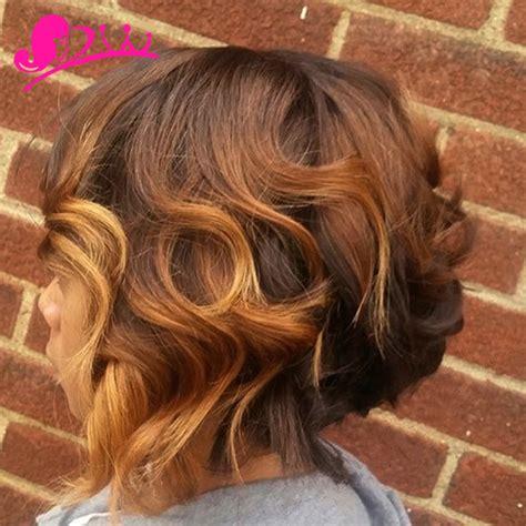xuchang virgin ombre short brazilian loose wave hair