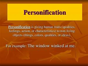 Personification Introduction