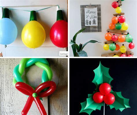 christmas balloons decorations diy christmas decorations