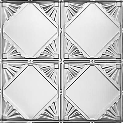 checkered deco tin ceiling tile 1205