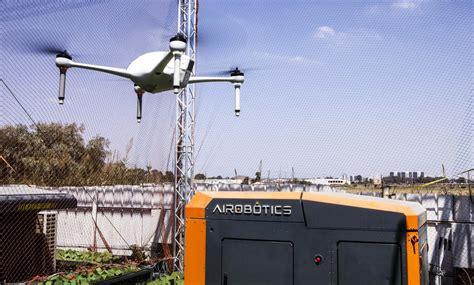 israeli industrial drone maker airobotics raises 32 5