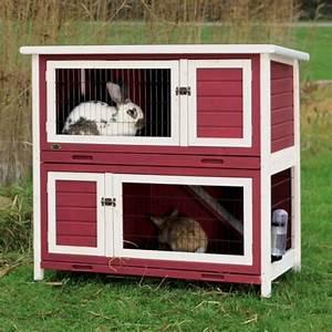 Hasenkäfig Für Draußen : trixie kaninchenstall natura kleintierstall 2 etagen rot wei kaninchenstall kaufen top 3 ~ A.2002-acura-tl-radio.info Haus und Dekorationen