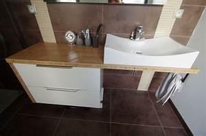 Salle De Bain Plan De Travail : plan de travail meuble salle de bain lille maison ~ Melissatoandfro.com Idées de Décoration
