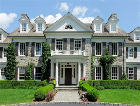 beautiful colonial style mansions 14 000 square foot georgian colonial mansion in greenwich