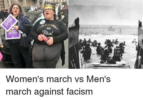 Women S March Memes - march continues for equal rights untestatesa esirug women s march vs men s march against facism