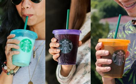 starbucks ph  launch pastel colored reusable cups