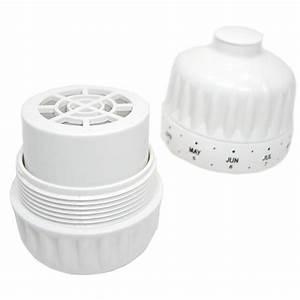 Filtre à Eau Pour Douche : cartouche recharge pour filtre douche classic filtre kdf ~ Edinachiropracticcenter.com Idées de Décoration