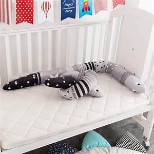 1, 5m, Length, Baby, Cot, Cartoon, Comfort, Pillow, Newborn, Crib