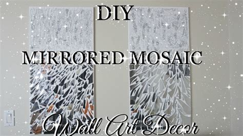 Spiegel Mosaik Wand by Diy Mirror Mosaic Wall Pier One Inspired