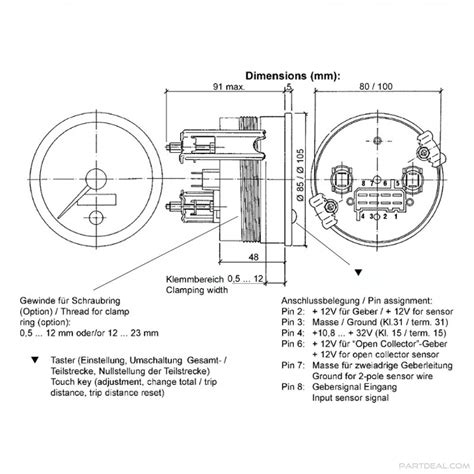 Vdo Tach Wiring Diagram by Vdo Wiring Diagrams Wiring Diagram