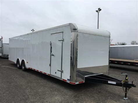 used aluminum trailer cabinets for sale enclosed car trailers trailer world of bowling green ky