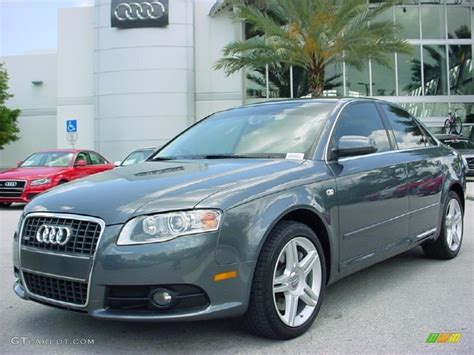 2008 Dolphin Grey Metallic Audi A4 2.0t Special Edition