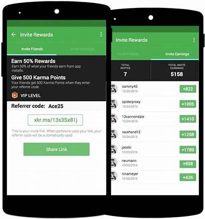 Uang Aplikasi Android Appkarma Applicazioni Robux Soldi