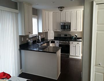 colors for small kitchens advantage painting services before and after photo gallery 6876