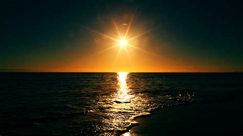 Sunset On The Beach Free Stock Photos Life Of Pix