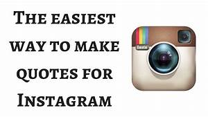 The easiest way to make quotes for Instagram, Pinterest ...