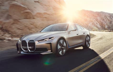bmw concept  previews  horsepower tesla model  rival