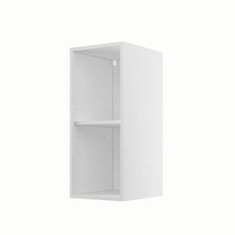 caisson de cuisine haut h30 70 delinia blanc l 30 x h 70 x