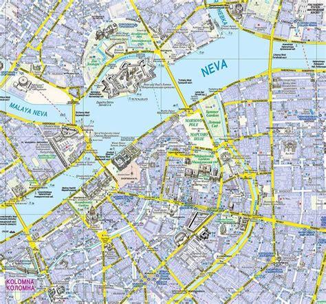Karte St Petersburg