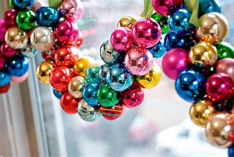 Decorate Christmas Tree Garland Beads by Guirnaldas Con Esferas De Navidad Lacelebracion Com