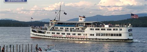 Mt Washington Boat by M S Mt Washington Excursion Boats On Lake Winnipesaukee Nh