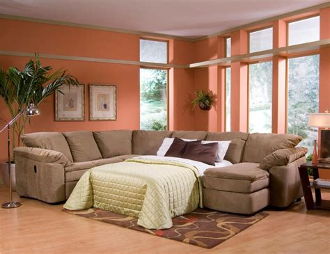 sectional sleeper sofa with recliners arrange multifunction room with sectional sleeper sofa