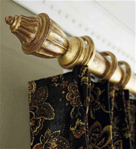 Decorative Metal Traverse Curtain Rods by Traverse Rods Interiordecorating