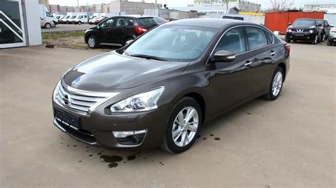 Nissan Teana Modification by 2014 Nissan Teana Start Up Engine And In Depth Tour