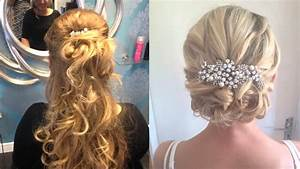 Wedding Guest Hair Up With Fringe Hairdresser Longfield