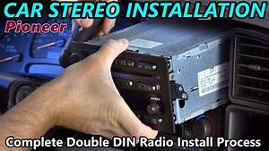 Full Double Din Car Stereo Installation - Retain Steering Wheel Control  Onstar