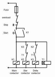 Star Delta Starter Control Wiring