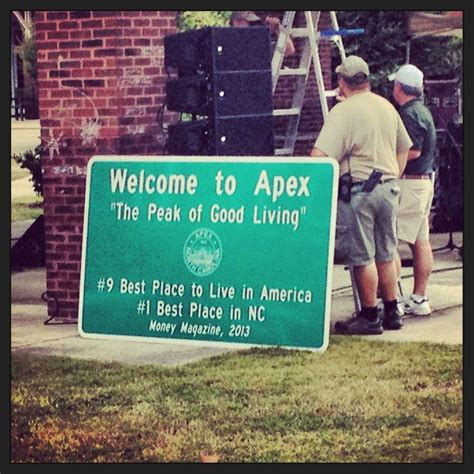 1 town in nc who doesn t apex nc a day in my and dr who