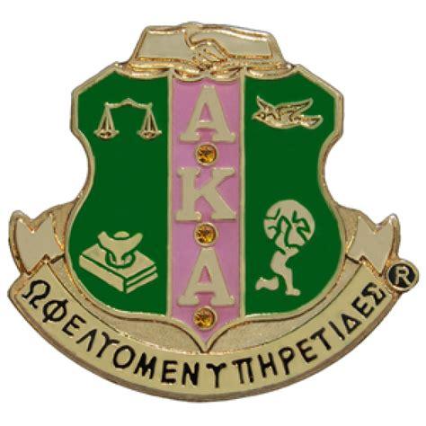 alpha kappa alpha colors store alpha kappa alpha crest w crystals pin