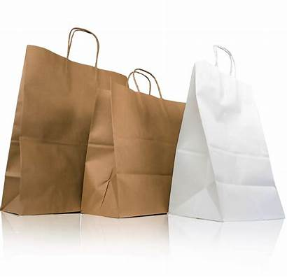 Bags Paper Wholesale Shopping Handle Service Twisted