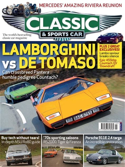 sports car magazine classic sports car magazine july 2017 subscriptions