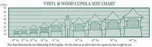 cbd39s copper cupolas photos page With cupola sizing guide