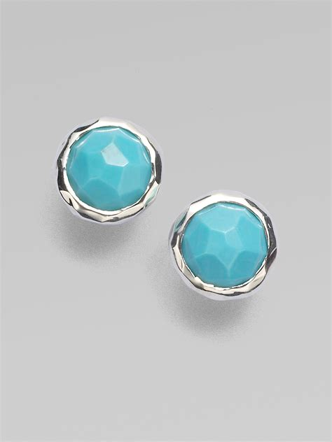 ippolita rock candy turquoise sterling silver lollipop