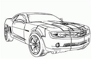 Chevrolet Camaro Coloring Pages - Coloring Home