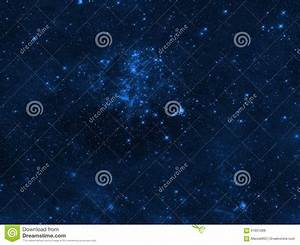 Night Sky With Clouds Stars Nebula Background.Elements Of ...