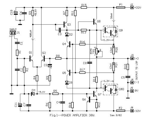 World Technical Power Audio Amplifier