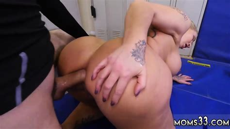 Painful First Time Anal Fuck Dominant Milf Gets A Creampie