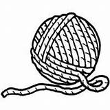 Yarn Ball Coloring Clipart Pages Printable Drawing Clip Cat Cliparts Sheets Stencil Wool Surfnetkids Letter Yarns Knitting Sketch Library Might sketch template